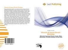 Portada del libro de Church of Jesus Christ–Christian