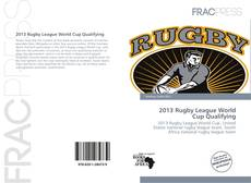 Bookcover of 2013 Rugby League World Cup Qualifying