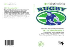 Bookcover of 2012 Championship 1