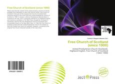 Bookcover of Free Church of Scotland (since 1900)