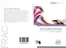 Capa do livro de 2011 San Marino CEPU Open