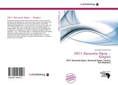 Bookcover of 2011 Sarasota Open – Singles
