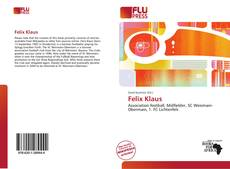 Portada del libro de Felix Klaus