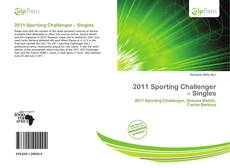 Bookcover of 2011 Sporting Challenger – Singles