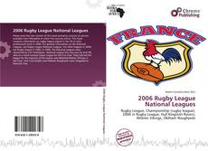 Bookcover of 2006 Rugby League National Leagues
