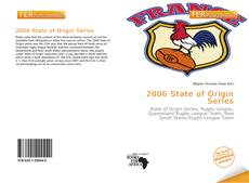 Bookcover of 2006 State of Origin Series