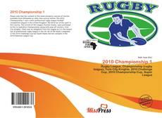 Portada del libro de 2010 Championship 1