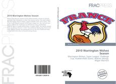 Capa do livro de 2010 Warrington Wolves Season