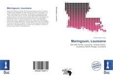 Copertina di Maringouin, Louisiana