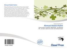 Bookcover of Ahmad Abdel-Halim