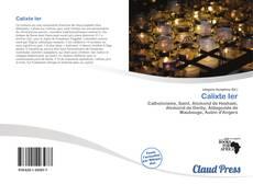 Calixte Ier的封面
