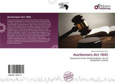 Bookcover of Auctioneers Act 1845