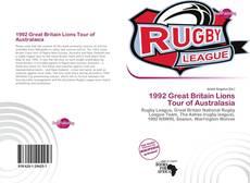 Borítókép a  1992 Great Britain Lions Tour of Australasia - hoz