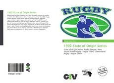 Bookcover of 1992 State of Origin Series