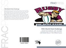 Bookcover of 1992 World Club Challenge