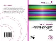 Bookcover of Artur Zapadnya