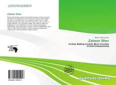 Capa do livro de Zaheer Sher