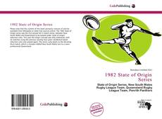 Bookcover of 1982 State of Origin Series