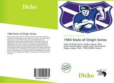Bookcover of 1984 State of Origin Series