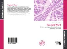 Couverture de Reginald Ward