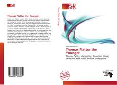 Couverture de Thomas Platter the Younger