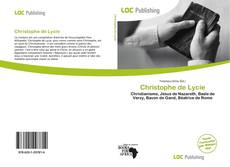 Bookcover of Christophe de Lycie