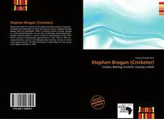 Portada del libro de Stephen Brogan (Cricketer)