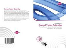 Bookcover of Samuel Taylor Coleridge