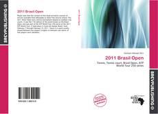 2011 Brasil Open kitap kapağı
