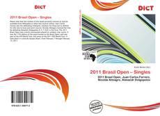 2011 Brasil Open – Singles的封面