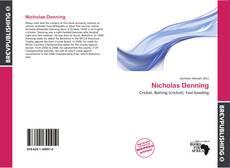 Portada del libro de Nicholas Denning