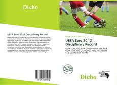 Buchcover von UEFA Euro 2012 Disciplinary Record