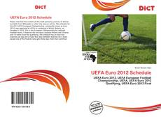 Bookcover of UEFA Euro 2012 Schedule