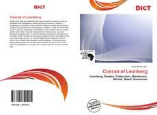 Capa do livro de Conrad of Leonberg