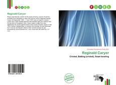 Couverture de Reginald Caryer
