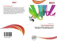 Couverture de Cyril Hammond