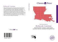 Portada del libro de Richwood, Louisiana