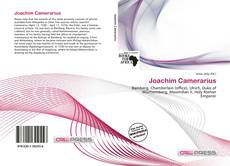 Bookcover of Joachim Camerarius