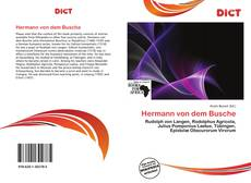 Hermann von dem Busche kitap kapağı