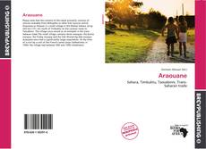 Araouane kitap kapağı