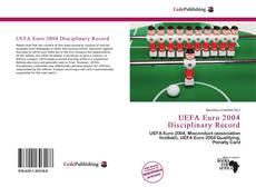 UEFA Euro 2004 Disciplinary Record kitap kapağı