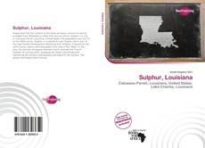 Copertina di Sulphur, Louisiana