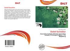 Buchcover von Detlef Schößler