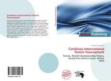Borítókép a  Carolinas International Tennis Tournament - hoz