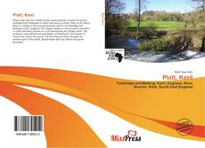 Capa do livro de Platt, Kent