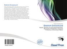 Portada del libro de Dietrich Gresemund