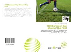 Bookcover of 1978 European Cup Winners' Cup Final