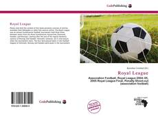 Capa do livro de Royal League