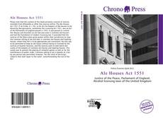 Bookcover of Ale Houses Act 1551