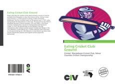 Copertina di Ealing Cricket Club Ground